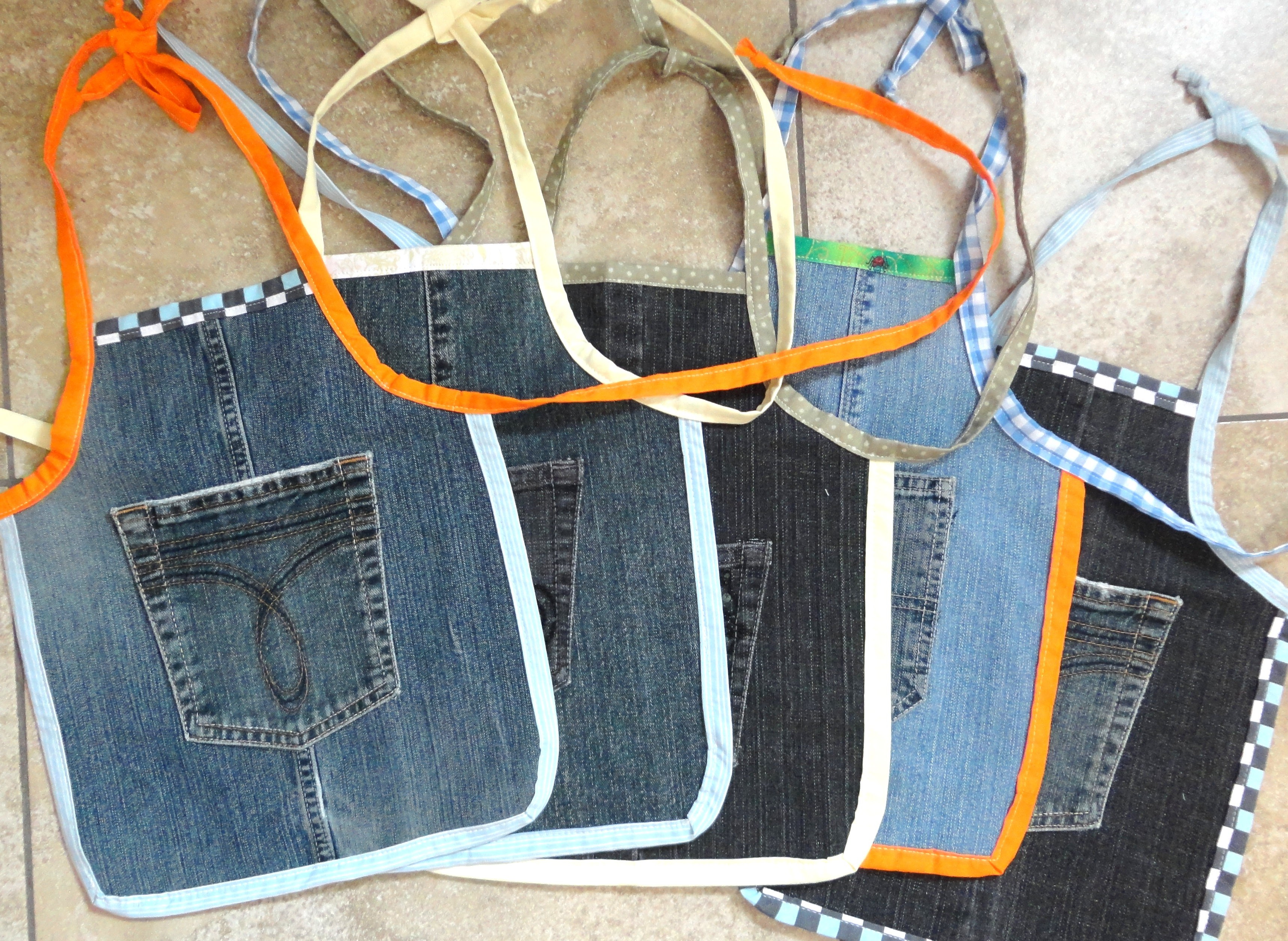 How to Make an Apron from Old Jeans forecasting